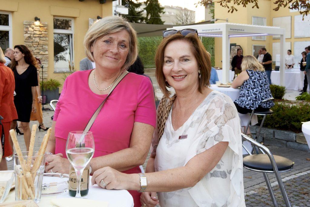 Heidi Schubert bei Event im Steinzentrum Wien SCHUBERT STONE
