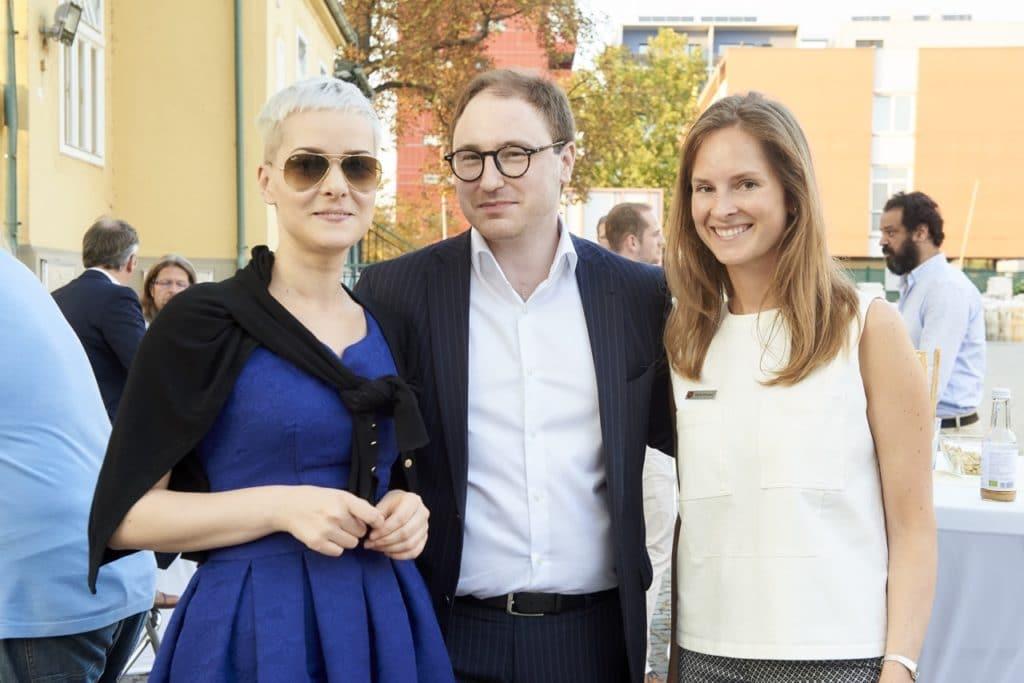 Thomas Jabornegg (SoundofWine) und Carina Schubert bei SCHUBERT STONE