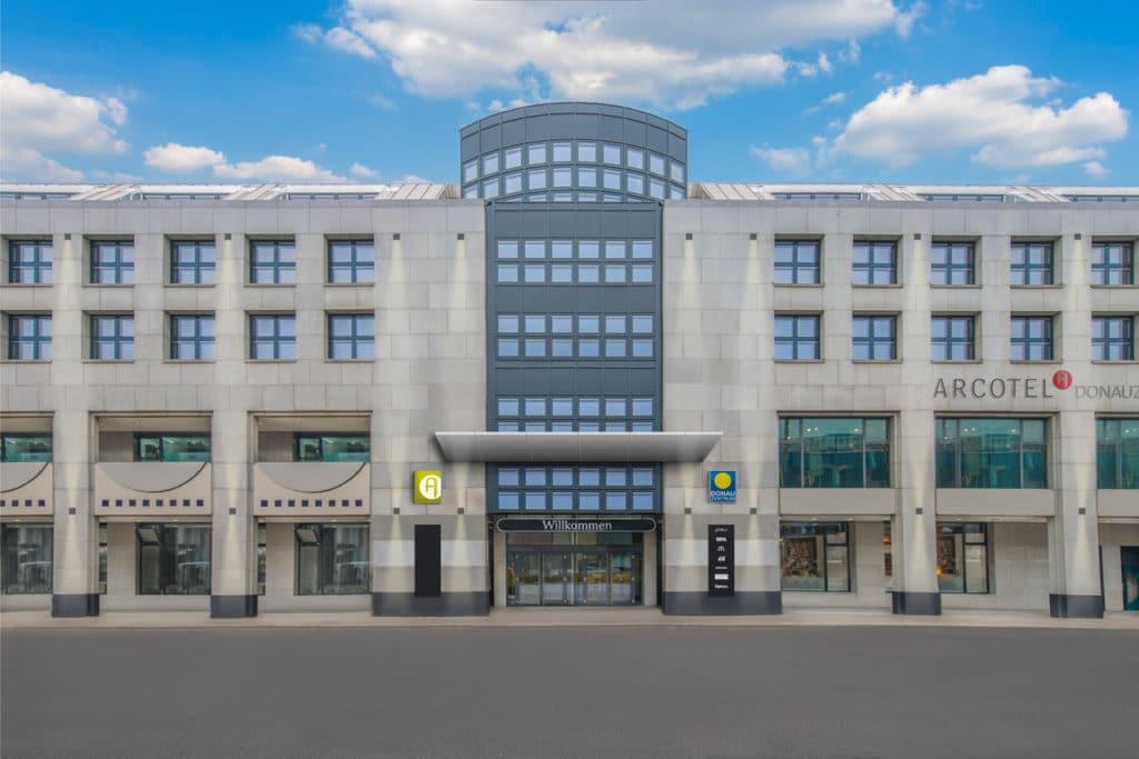Arcotel Wien Donauzentrum Referenz für SCHUBERT STONE