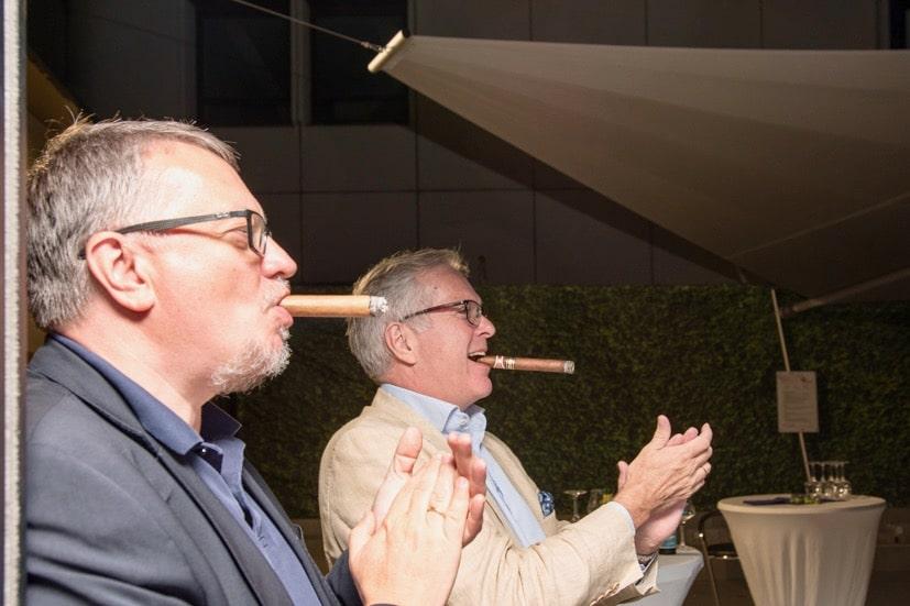 , Zigarren Abend bei SCHUBERT STONE | September 2019