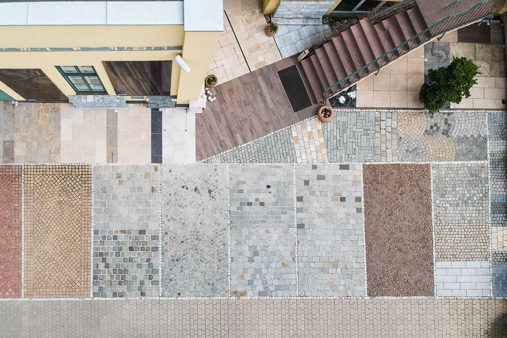 Naturstein Pflaster Ausstellung SCHUBERT STONE-1