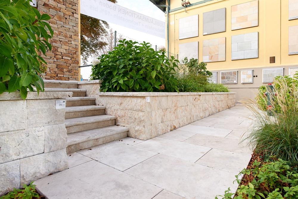 Naturstein Terrassen Ausstellung SCHUBERT STONE-06