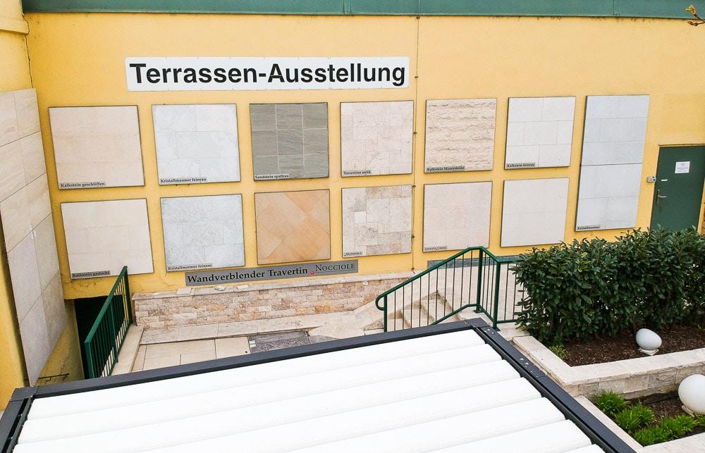 Naturstein Terrassen Ausstellung SCHUBERT STONE-07