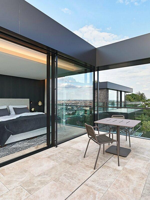 Hollywood Villa in Wien mit Naturstein von SCHUBERT STONE-22